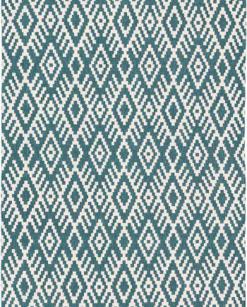 Louis De Poortere teppich Romo LX 8744 Nahli Kingfisher