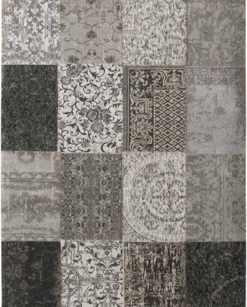 teppich Louis De Poortere LX 8101 Vintage Black White