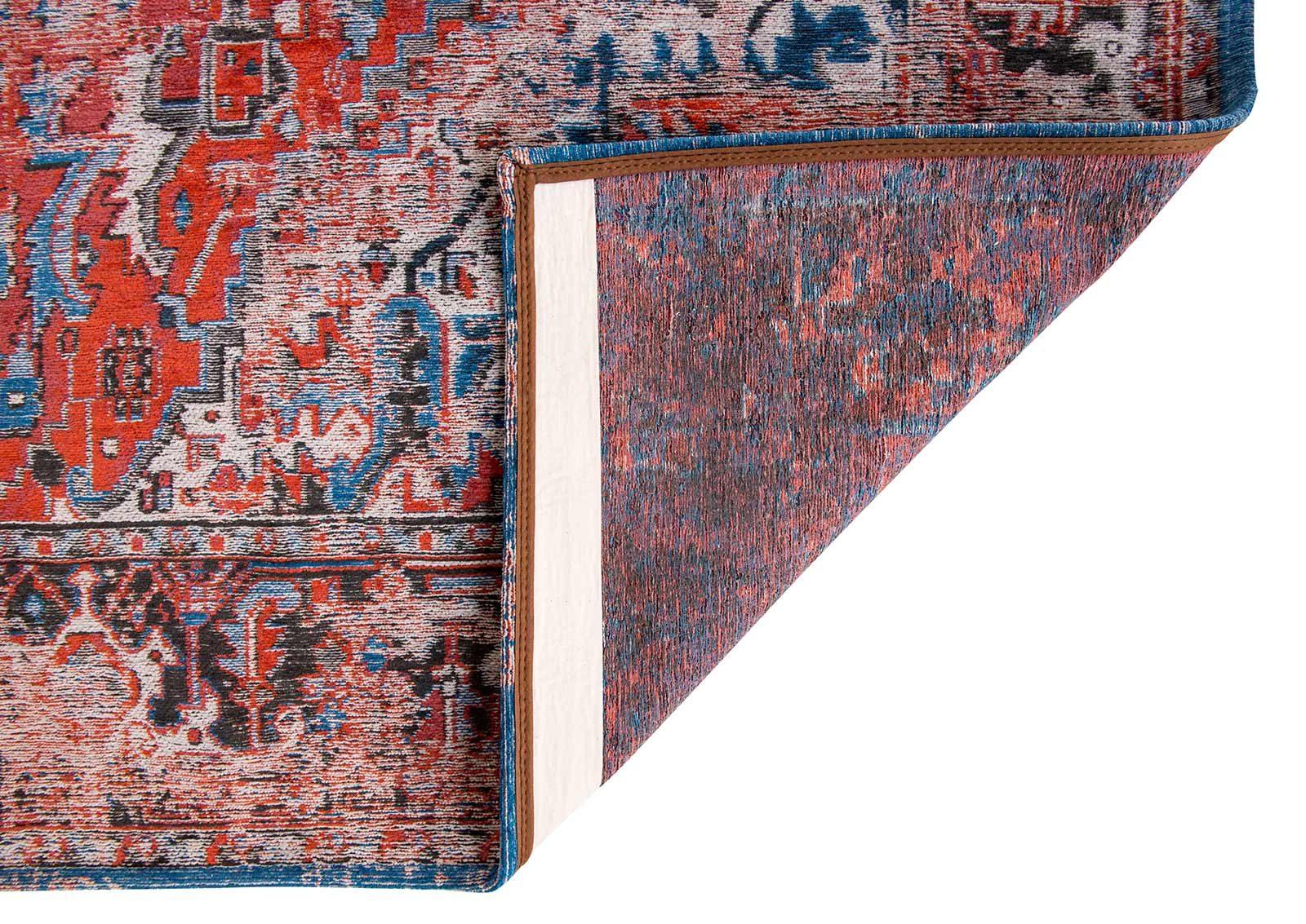 teppich Louis De Poortere LX 8703 Antiquarian Antique Heriz Classic Brick back