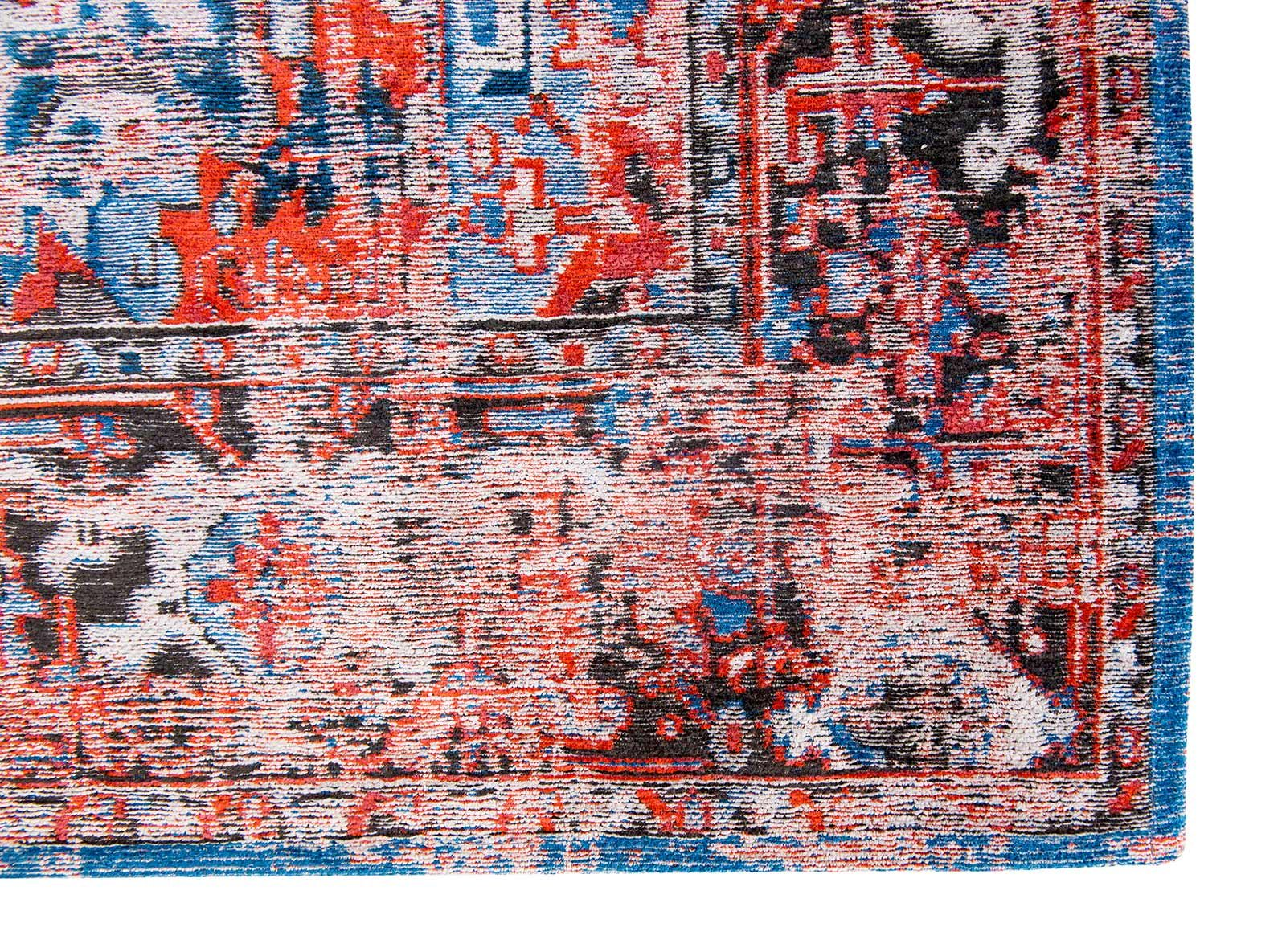 teppich Louis De Poortere LX 8703 Antiquarian Antique Heriz Classic Brick corner
