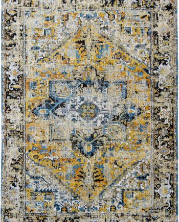 teppich Louis De Poortere LX 8704 Antiquarian Antique Heriz Amir Gold