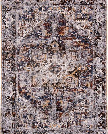 teppich Louis De Poortere LX 8707 Antiquarian Antique Heriz Divan Blue