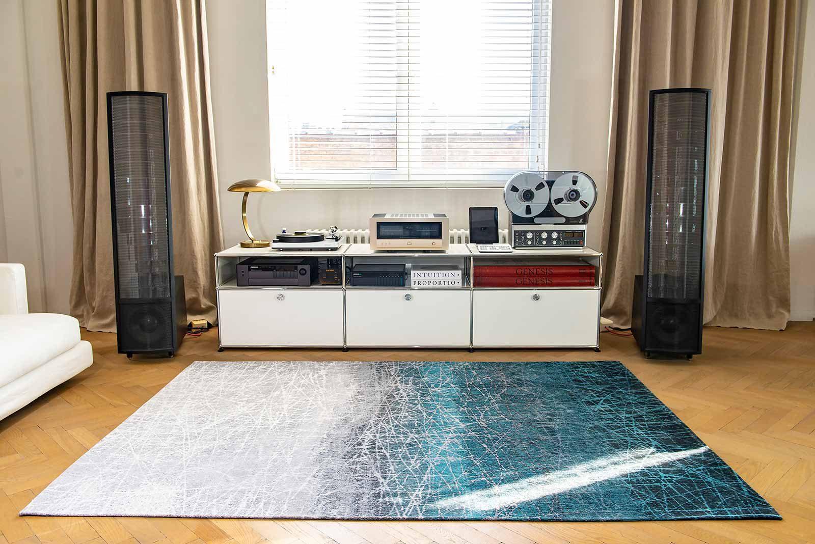 teppich Louis De Poortere LX 8877 Mad Men Fahrenheit Polar Vortex interior 2