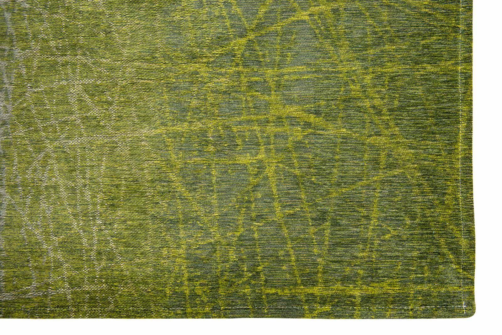 teppich Louis De Poortere LX 8882 Mad Men Fahrenheit Central Park Green corner