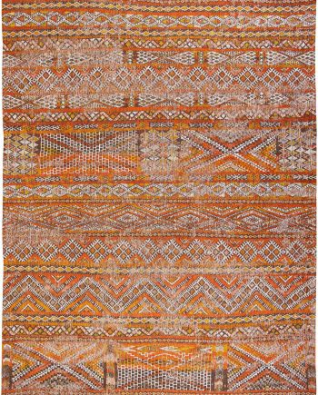 Louis De Poortere teppich LX 9111 Antiquarian Kilim Riad Orange